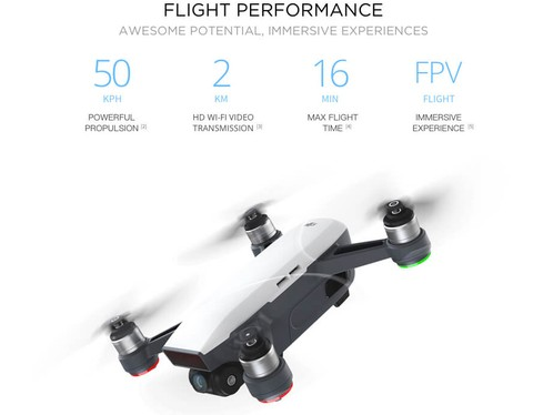 DJI Spark Fly More Combo - Yellow
