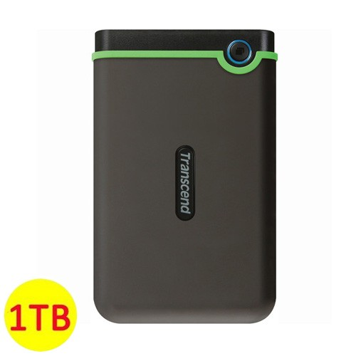 Transcend Storejet 25M3 USB 3.0 1TB - Black