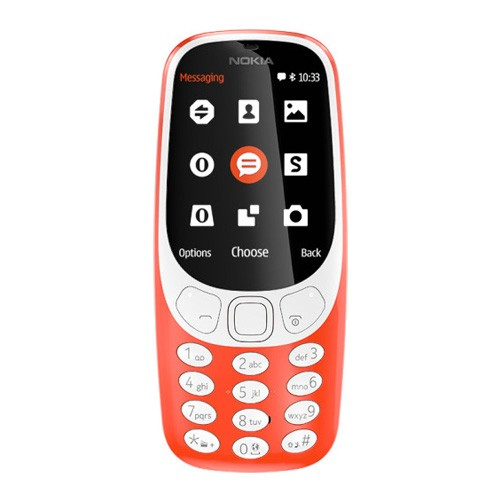 Nokia 3310 - Warm Red