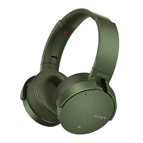 Sony Extra Bass Wireless Noise Canceling Headphones MDR-XB950N1 - Green