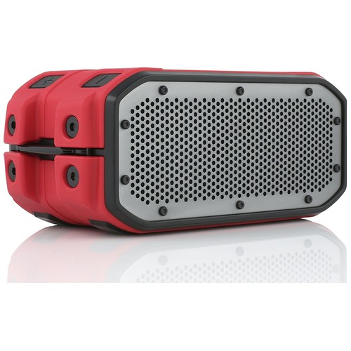 BRAVEN BRV-1M Waterproof Outdoor Bluetooth Speaker - Red