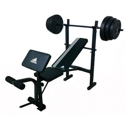 Adidas ADBE-10349 Essential Strength Bench - Black