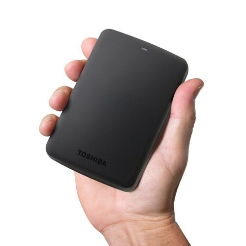 Toshiba Canvio Basic Portable Hard Drive - 3TB - Black