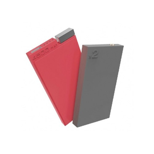 Lepow ADD Series (Addition ) Power Bank 4500mAh - Red