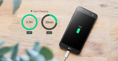 LG K10 Power - Titan