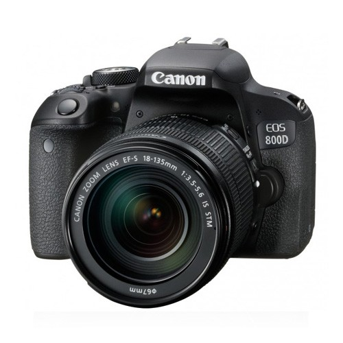 Canon Digital EOS 800D DSLR Camera with 18-135mm Lens