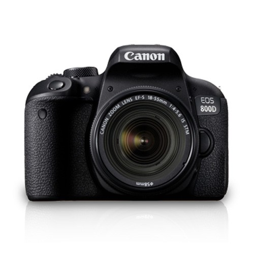 Canon Digital EOS 800D DSLR Camera with 18-55mm Lens