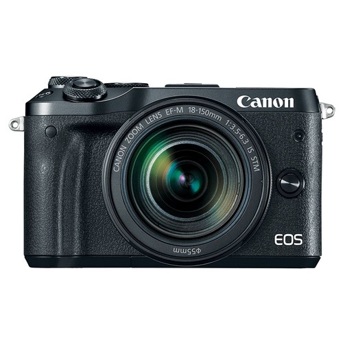 Canon EOS M6 Mirrorless Digital Camera with EF-M 18-150mm Lens - Black