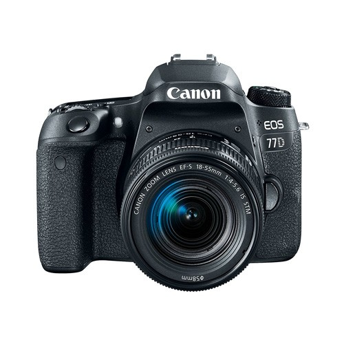 Canon Digital EOS 77D DSLR Camera with 18-55mm Lens