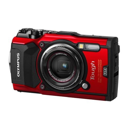 Olympus Tough Waterproof Camera TG-5 - Red