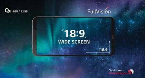 LG Q6 - Ice Platinum
