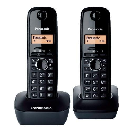 Panasonic Cordless KX-TG 1612 - Black
