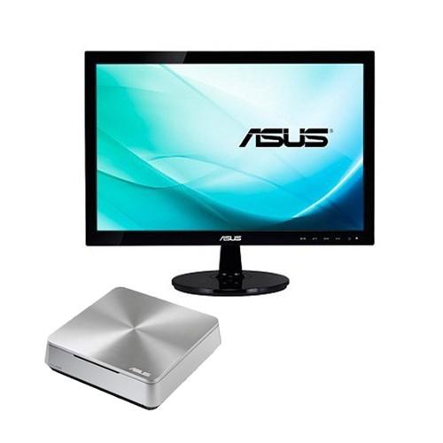 Asus Vivo Mini PC VM42-S163V + LED Monitor 18.5 inch VS197DE