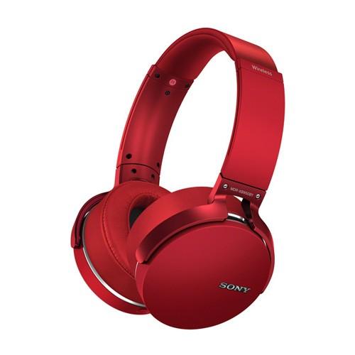 Sony Extra Bass Wireless Headphones XB950B1 - Red