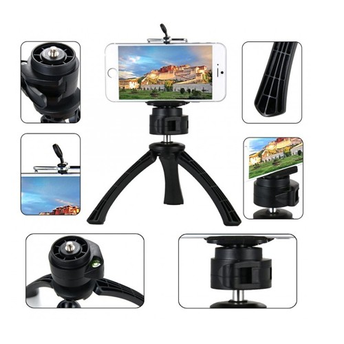 Universal Mini Tripod Stand for Smartphone & Action Cam PHO-T001