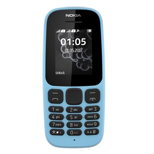 Nokia 105 (2017 Edition) - Blue