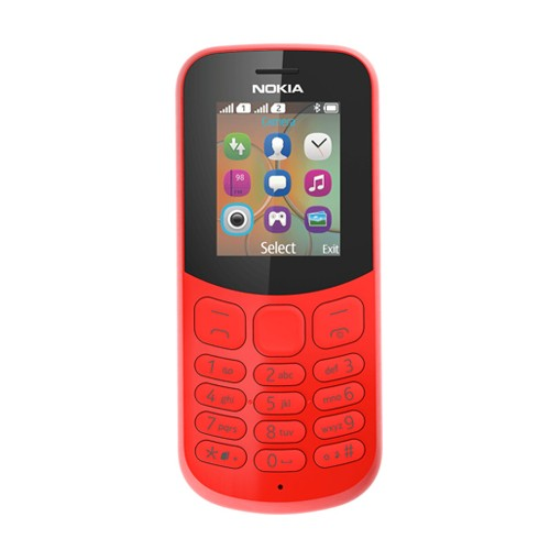 Nokia 130 (2017 Edition) - Red