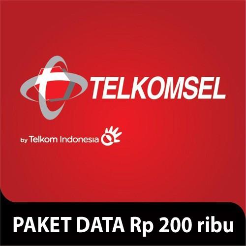Telkomsel Paket Data Rp 200.000 (50GB+2GB VideoMax)
