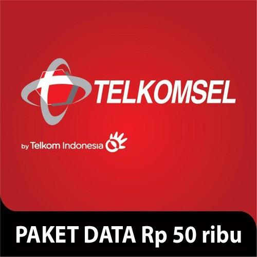 Telkomsel Paket Data Rp 50.000