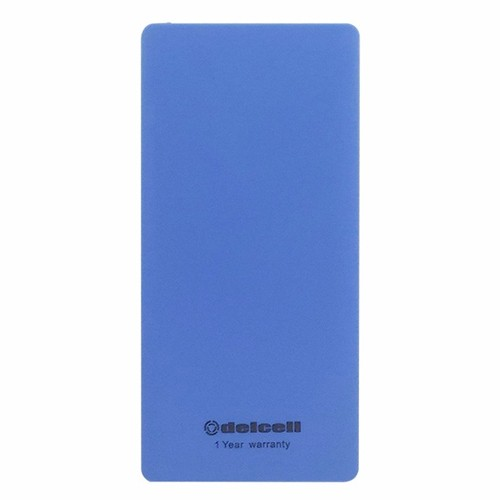 Delcell Power Bank Eco 10.000 mAh - Blue