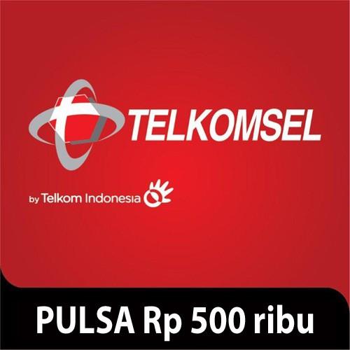 Telkomsel Pulsa Rp 500.000