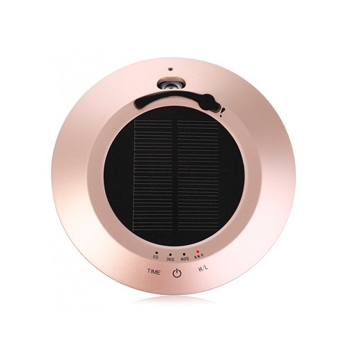 Solar Car Touch Sensor Switch Air Anion Purifier 100ml - Gold