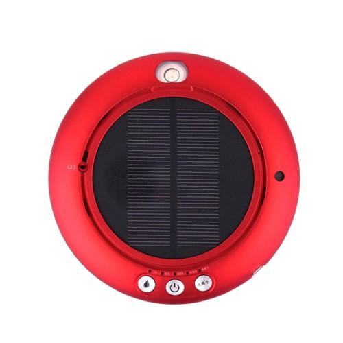 Solar Car Touch Sensor Switch Air Anion Purifier 100ml - Red