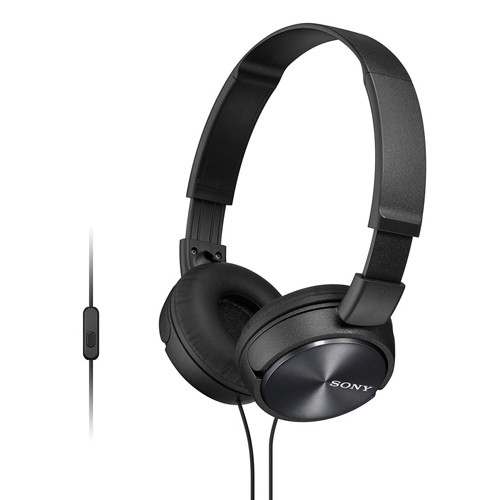 Sony Mass Overbands Headset MDR-ZX310AP - Black