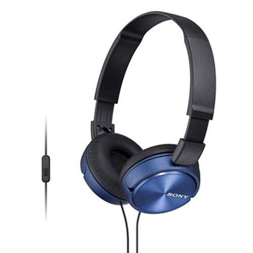 Sony Mass Overbands Headset MDR-ZX310AP - Blue