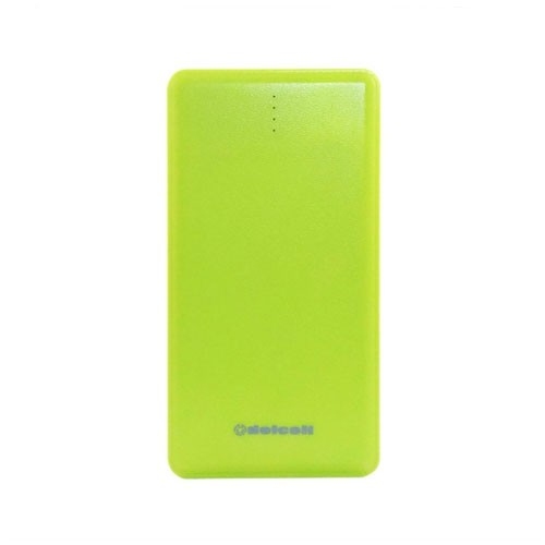 Delcell Power Bank Note Slim 10500 mAh - Green