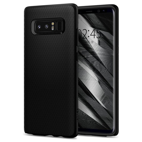 Spigen Liquid Air Armor for Galaxy Note8 - Matte Black