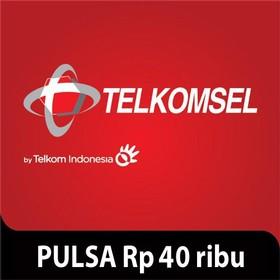 Telkomsel Pulsa Rp 40.000