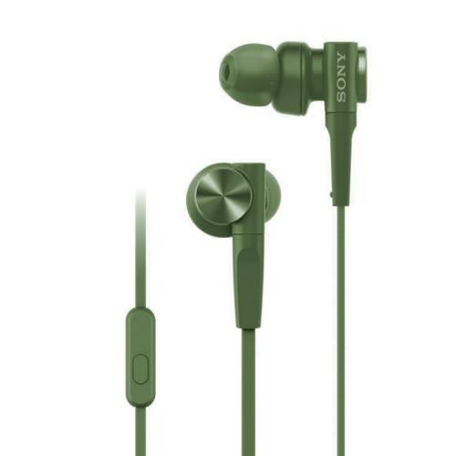 Sony In-Ear Headphone Extra Bass MDR-XB55AP/G - Green