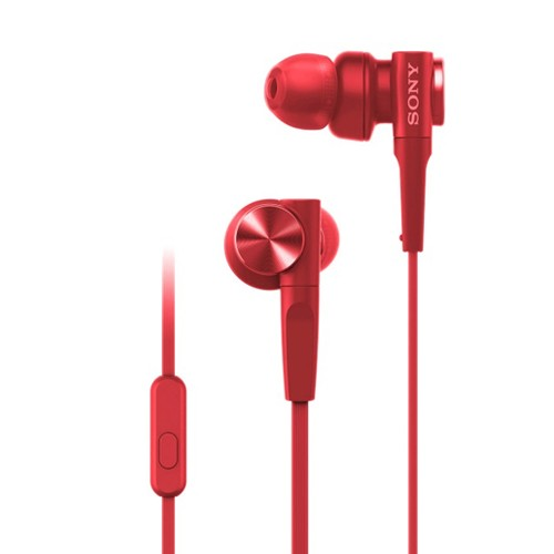Sony In-Ear Headphone Extra Bass MDR-XB55AP/R - Red