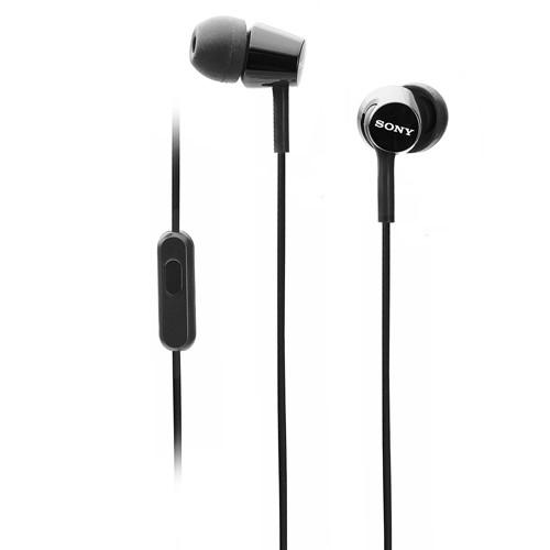 Sony In-Ear Headphone MDR-EX155AP/B - Black