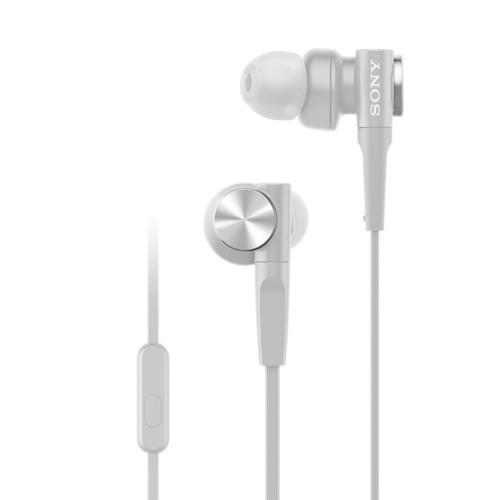 Sony In-Ear Headphone Extra Bass MDR-XB55AP/W - White