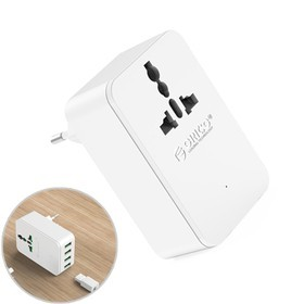 Orico Wall Charger with 4 USB Ports S4U-TEU - White