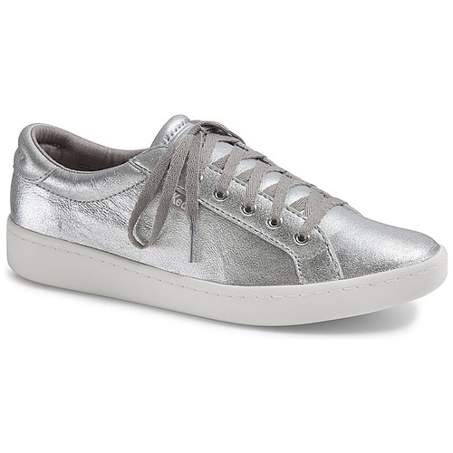 KEDS-WH57444-ACE METALLIC SUEDE.SILVER