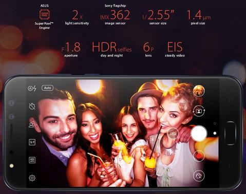 Asus Zenfone 4 Selfie Pro ZD552KL - Red