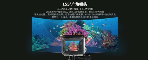 Original Remax Action Camera 4K with Waterproof Case - SD-02 - Silver