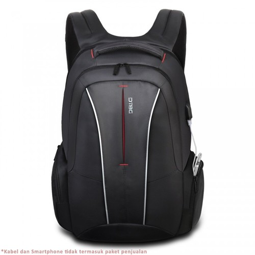 Digital Bodyguard Backpack Anti Theft with USB Charging for Laptop 17.3 Inch - DTBG D8231W