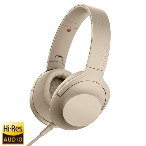Sony H.Ear on 2 High-Resolution Audio Headphones MDR-H600A - Gold