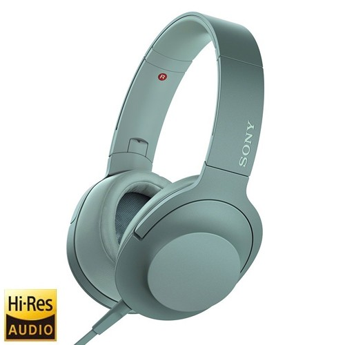 Sony H.Ear on 2 High-Resolution Audio Headphones MDR-H600A - Green