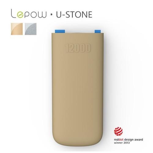 LEPOW U-Stone 12000mAH - Brown