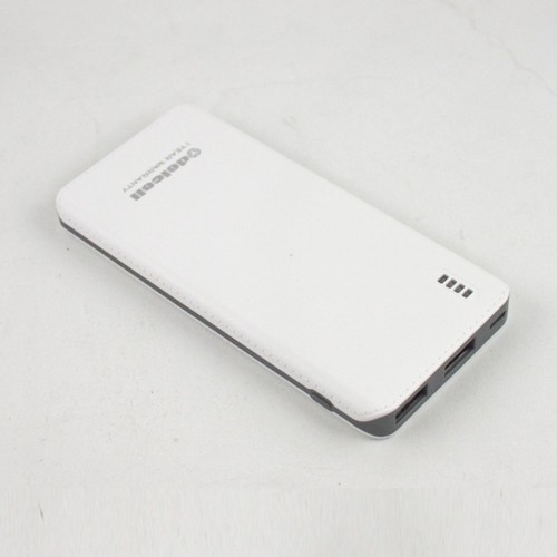 Delcell Power Bank Gust 6000 mAh - White