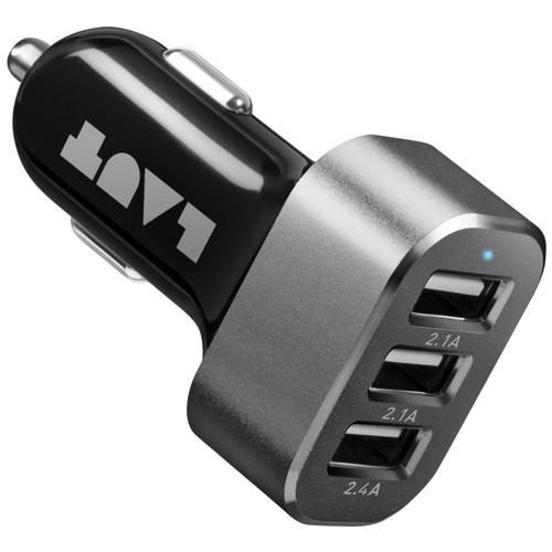 LAUT Powerdash 6.6 Amp Car Charger - Black