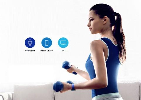 Samsung Gear Sport  - Blue