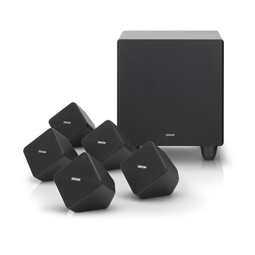 Denon 5.1 Home Theatre Speaker System SYS-2020 - Black