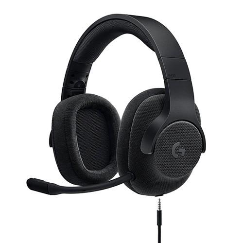 Logitech 7.1 Surround Sound Wired Gaming Headset G433 - Black