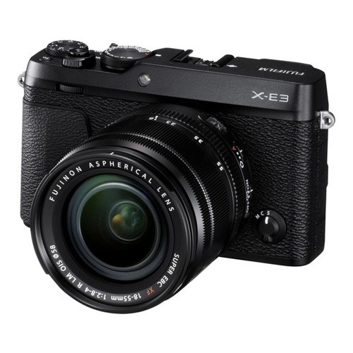 Fujifilm Mirrorless Digital Camera X-E3 KIT XF18-55MM - Black